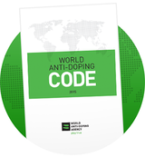 Logo World anti doping code